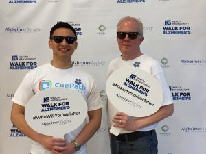 Bruce & Rich at Vancouver Alzheimer's Walk